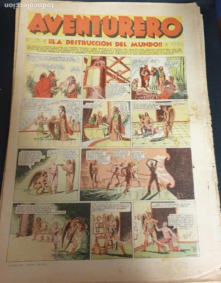 AVENTURERO ¡LA DESTRUCCIÓN DEL MUNDO! Nº 29 26 NOVIEMBRE 1935 (Tebeos y Comics - Hispano Americana - Aventurero)