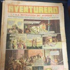 Tebeos: AVENTURERO ¡LA DESTRUCCIÓN DEL MUNDO! Nº 28 19 NOVIEMBRE 1935. Lote 215557893