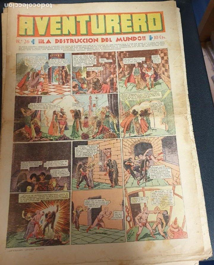 AVENTURERO ¡LA DESTRUCCIÓN DEL MUNDO! Nº 26 5 NOVIEMBRE 1935 (Tebeos y Comics - Hispano Americana - Aventurero)