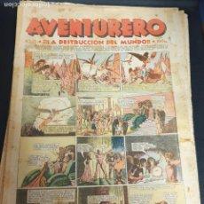 Tebeos: AVENTURERO ¡LA DESTRUCCIÓN DEL MUNDO! Nº 25 29 OCTUBRE 1935. Lote 215558422