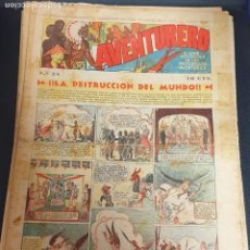 Tebeos: AVENTURERO ¡LA DESTRUCCIÓN DEL MUNDO! Nº 24 22 OCTUBRE 1935. Lote 215558581