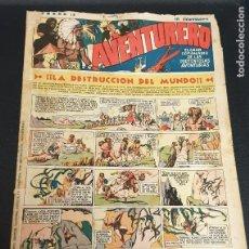 Tebeos: AVENTURERO ¡LA DESTRUCCIÓN DEL MUNDO! Nº 13 6 AGOSTO 1935. Lote 215559058