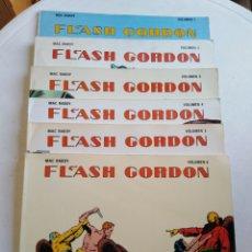 Tebeos: LOTE DE 6 CÓMIC FLASH GORDON, MAC RABOY ( 6 VOLÚMENES ) AÑOS 80. Lote 216886822
