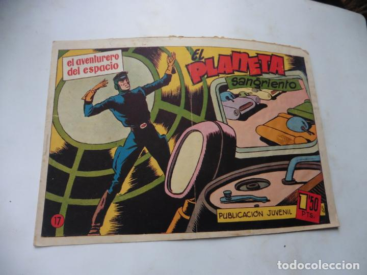 EL AVENTURERO DEL ESPACIO Nº 17 ORIGINAL HISPANOAMERICANA (Tebeos y Comics - Hispano Americana - Otros)