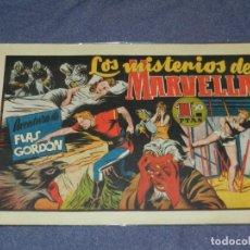 Tebeos: (M1) FLASH GORDON NUM 14 , 1,50 PTAS , LOS MISTERIOS MARVELLA , HISPANO AMERICANA 1946. Lote 217321093
