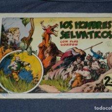 Tebeos: (M1) FLASH GORDON NUM 7 , 2,5 PTAS , LOS HOMBRES SELVATICOS , HISPANO AMERICANA 1942. Lote 217321397
