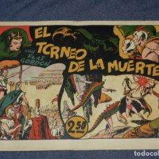 Tebeos: (M1) FLASH GORDON NUM 3 , 2,5 PTAS , EL TORNEO DE LA MUERTE, HISPANO AMERICANA 1942. Lote 217321588