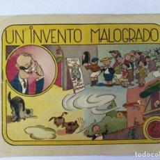 Tebeos: COMIC - IGA - UN INVENTO MALOGRADO - EDITORIAL HISPANO AMERICANA 1943. Lote 217603333