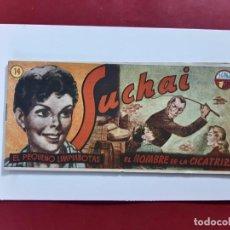 Tebeos: SUCHAI -EL PEQUEÑO LIMPIABOTAS Nº 14 -ORIGINAL-IMPECABLE-COMO NUEVO-. Lote 217712831