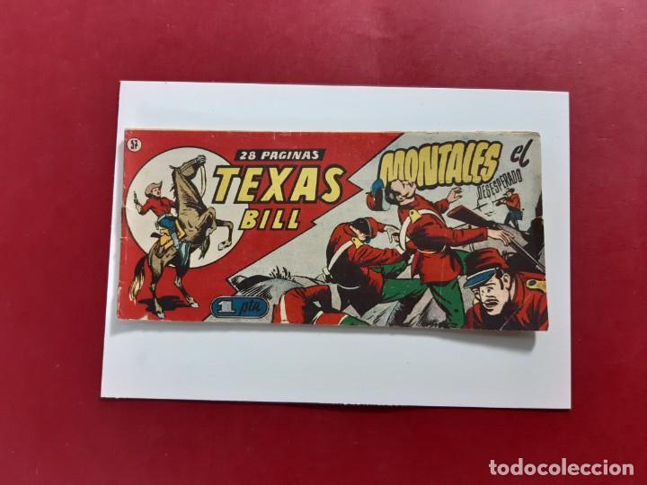 TEXAS BILL Nº 57 HISPANO AMERICANA (Tebeos y Comics - Hispano Americana - Otros)