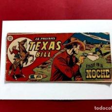 Tebeos: TEXAS BILL Nº 101 HISPANO AMERICANA. Lote 217718137