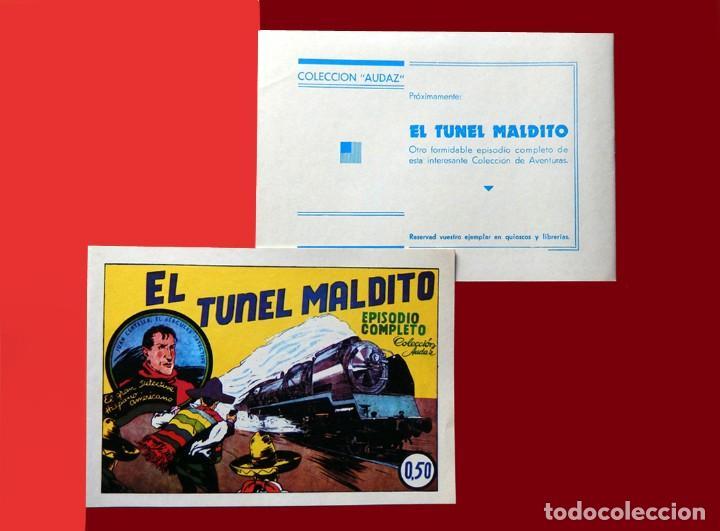 Tebeos: JUAN CENTELLA, LOTE 4 EJEMPLARES Nº 1, 2, 3 y 4. TAMAÑO GRANDE, COLEC. AUDAZ, REEDICIÓN 1980. NUEVOS - Foto 7 - 218134178