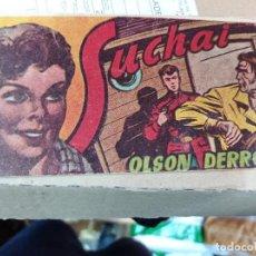 Tebeos: SUCHAI - EL PEQUEÑO LIMPIABOTAS - Nº 168 1952. Lote 218340001