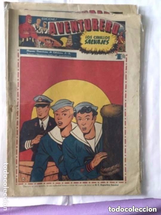 Tebeos: Aventurero- lote de 6 ejemplares (num.7-8-9-13-14-15)- muy bien conservados- uno: 18€ - Foto 2 - 219466545