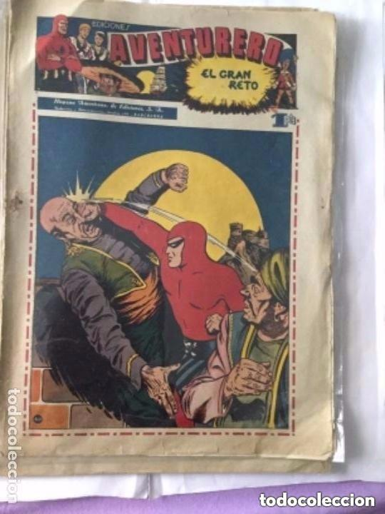 Tebeos: Aventurero- lote de 6 ejemplares (num.7-8-9-13-14-15)- muy bien conservados- uno: 18€ - Foto 6 - 219466545