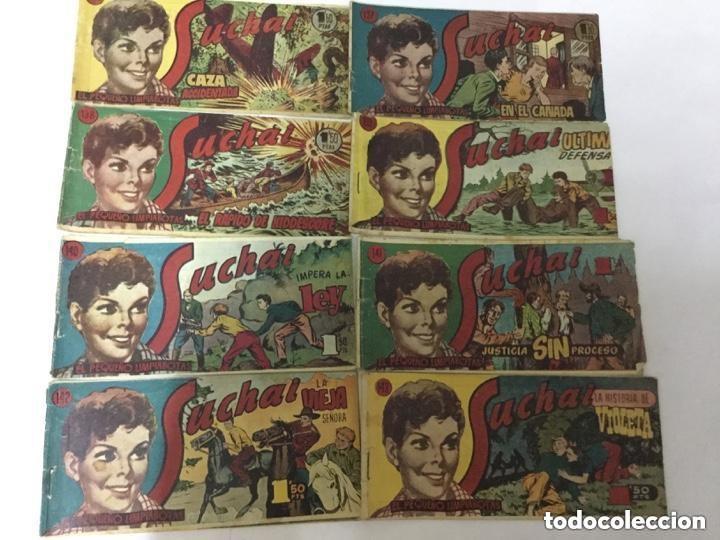 SUCHAI- LOTE DE 8 EJEMPLARES - NUM. 136 AL 143- UNO: 3€ (Tebeos y Comics - Hispano Americana - Suchai)