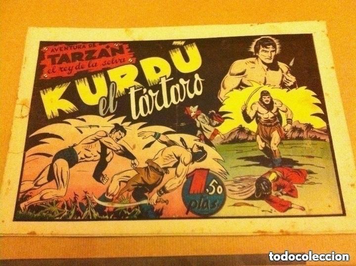 TARZAN - KURDO, EL TÁRTARO -LOMO REPARADO (Tebeos y Comics - Hispano Americana - Tarzán)