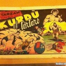 Tebeos: TARZAN - KURDO, EL TÁRTARO -LOMO REPARADO. Lote 219475926