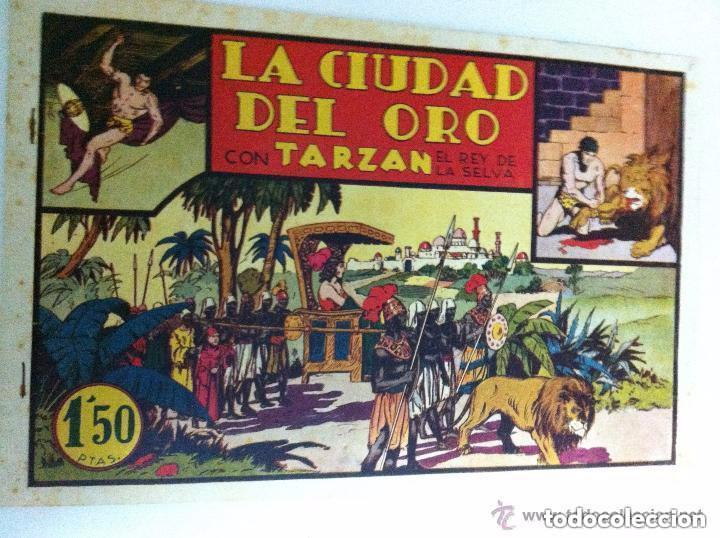 TARZÁN - LA CIUDAD DEL ORO- EXCELENTE CONSERVACIÓN (Tebeos y Comics - Hispano Americana - Tarzán)
