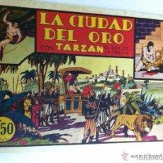 Tebeos: TARZÁN - LA CIUDAD DEL ORO- EXCELENTE CONSERVACIÓN. Lote 219476125