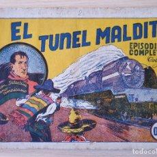 Tebeos: EL TUNEL MALDITO , EPISODIO COMPLETO, JUAN CENTELLA, COLECCION AUDAZ , HISPANO AMERICANA. Lote 219693406