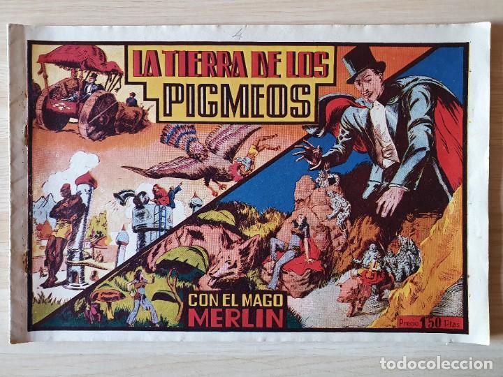 MERLIN EL MAGO MODERNO Nº 4 LA TIERRA DE LOS PIGMEOS (HISPANO AMERICANA) (Tebeos y Comics - Hispano Americana - Merlín)