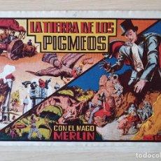 Tebeos: MERLIN EL MAGO MODERNO Nº 4 LA TIERRA DE LOS PIGMEOS (HISPANO AMERICANA). Lote 219718575
