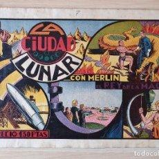 Tebeos: MERLIN REY DE MAGIA Nº 7 LA CIUDAD LUNAR (HISPANO AMERICANA). Lote 219719095
