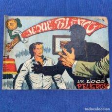 Tebeos: TEBEO JEQUE BLANCO - UN LOCO PELIGROSO - EDITORIAL ROLLAN. Lote 219863926