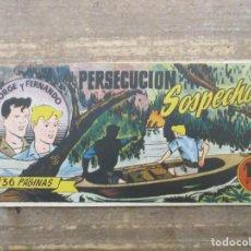 Tebeos: JORGE Y FERNANDO - Nº 23 - HISPANO AMERICANA - APAISADO. Lote 219890567