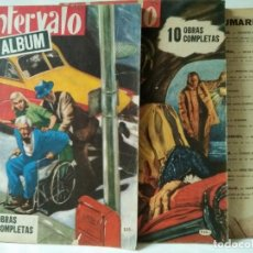 Tebeos: LOTE DE 3 ALBUNES ANTIGUOS INTERVALO-EDITORIAL COLUMBA 1961. Lote 219891898