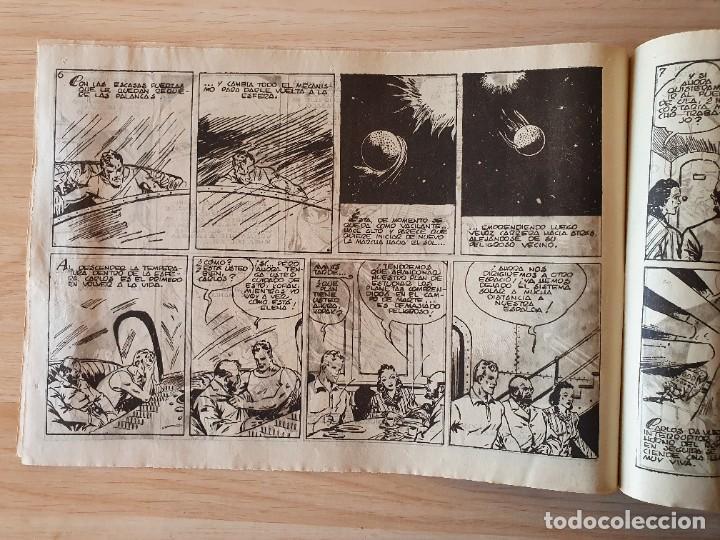 Tebeos: VAGANDO POR EL ESPACIO - CARLOS EL INTREPIDO - ORIGINAL (EDITORIAL HISPANO AMERICANA) - Foto 2 - 220257237