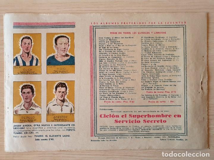 Tebeos: LA ESTRATAGEMA - CARLOS EL INTREPIDO - ORIGINAL (EDITORIAL HISPANO AMERICANA) - Foto 3 - 220257611
