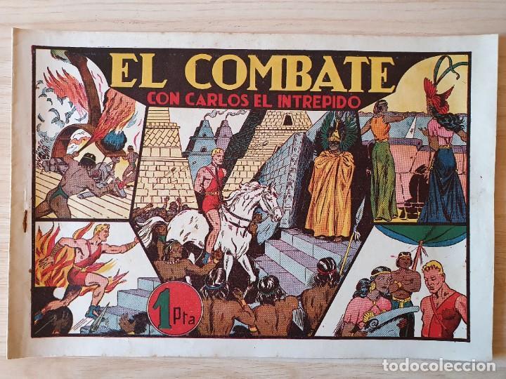 EL COMBATE - CARLOS EL INTREPIDO - ORIGINAL (EDITORIAL HISPANO AMERICANA) (Tebeos y Comics - Hispano Americana - Carlos el Intrépido)