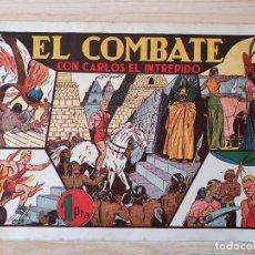 Tebeos: EL COMBATE - CARLOS EL INTREPIDO - ORIGINAL (EDITORIAL HISPANO AMERICANA). Lote 220257833