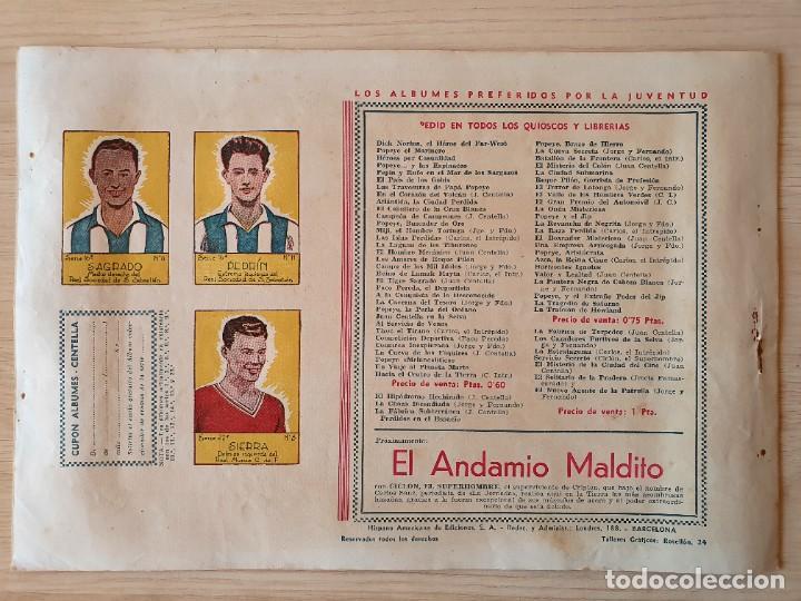 Tebeos: EL COMBATE - CARLOS EL INTREPIDO - ORIGINAL (EDITORIAL HISPANO AMERICANA) - Foto 3 - 220257833
