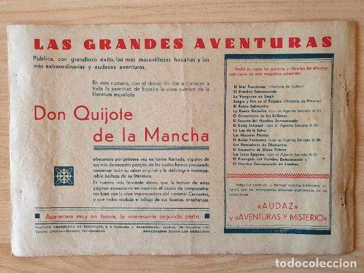 Tebeos: DON QUIJOTE DE LA MANCHA (PRIMERA Y SEGUNDA PARTE) - ORIGINAL HISPANO AMERICANA - Foto 3 - 220259763