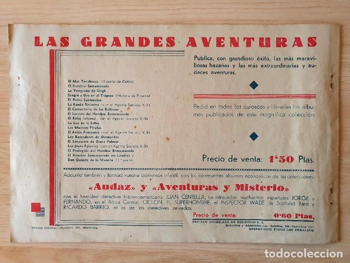 Tebeos: DON QUIJOTE DE LA MANCHA (PRIMERA Y SEGUNDA PARTE) - ORIGINAL HISPANO AMERICANA - Foto 6 - 220259763