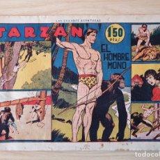 Tebeos: TARZAN - Nº 1, EL HOMBRE MONO - HISPANO AMERICANA - ORIGINAL. Lote 220261772
