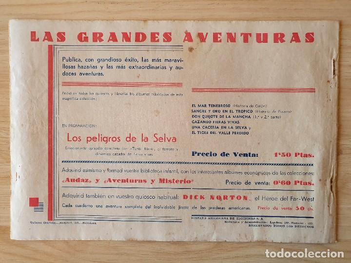 Tebeos: TARZAN - Nº 1, EL HOMBRE MONO - HISPANO AMERICANA - ORIGINAL - Foto 3 - 220261772