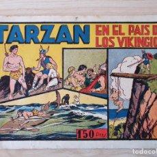 Tebeos: TARZAN - Nº 3, EN EL PAIS DE LOS VIKINGOS - HISPANO AMERICANA - ORIGINAL. Lote 220263221