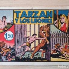 Tebeos: TARZAN - Nº 4, TARZAN Y LOS LEONES - HISPANO AMERICANA - ORIGINAL. Lote 220263997