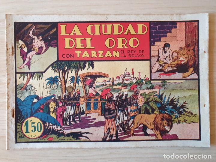 TARZAN - Nº 6, LA CIUDAD DEL ORO - HISPANO AMERICANA - ORIGINAL (Tebeos y Comics - Hispano Americana - Tarzán)