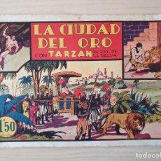 Tebeos: TARZAN - Nº 6, LA CIUDAD DEL ORO - HISPANO AMERICANA - ORIGINAL. Lote 220265367