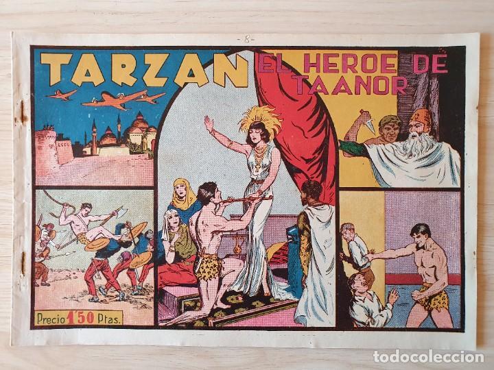 TARZAN - Nº 8, EL HEROE DE TAANOR - HISPANO AMERICANA - ORIGINAL (Tebeos y Comics - Hispano Americana - Tarzán)