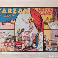 Tebeos: TARZAN - Nº 8, EL HEROE DE TAANOR - HISPANO AMERICANA - ORIGINAL. Lote 220265836