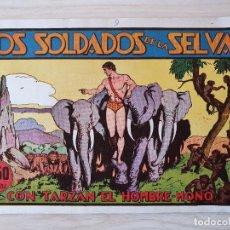Tebeos: TARZAN - Nº 9, LOS SOLDADOS DE LA SELVA - HISPANO AMERICANA - ORIGINAL. Lote 220266151