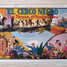 Tebeos: TARZAN - Nº 11, EL CERCO NEGRO - HISPANO AMERICANA - ORIGINAL. Lote 220266746