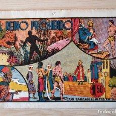 Tebeos: TARZAN - Nº 12, EL REINO PROHIBIDO - HISPANO AMERICANA - ORIGINAL. Lote 220266902