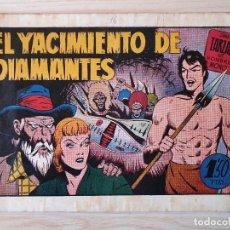 Tebeos: TARZAN - Nº 16, EL YACIMIENTO DE DIAMANTES - HISPANO AMERICANA - ORIGINAL. Lote 220267401